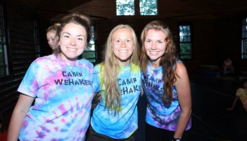 camp wehakee counselors