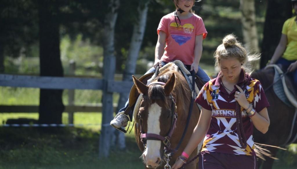 Horseback riding at wehakee