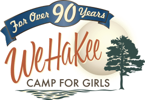 WeHaKee Camp for Girls - Logo
