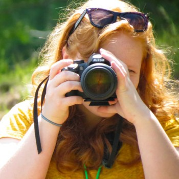Learn photography at WeHaKee Camp for Girls