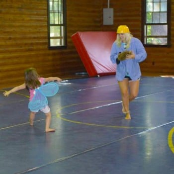 Playtime at Family Camp