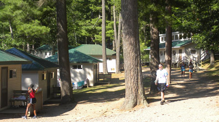 WeHaKee Camp for Girls - Cabin Row