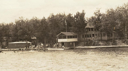 WeHaKee Camp for Girls on the shores of Green Bay, WI