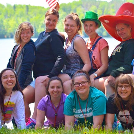 WeHaKee Camp for Girls | Staff Schedule | Training | Camp Sessions