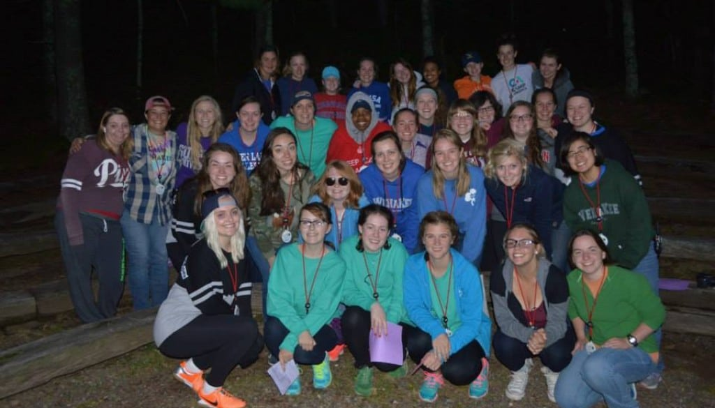 WeHaKee camp for Girls group of counselors