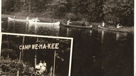 WeHaKee Camp for Girls moves to Hunter Lake, near Winter, Wisconsin