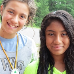 Make international friends at WeHaKee Camp for Girls