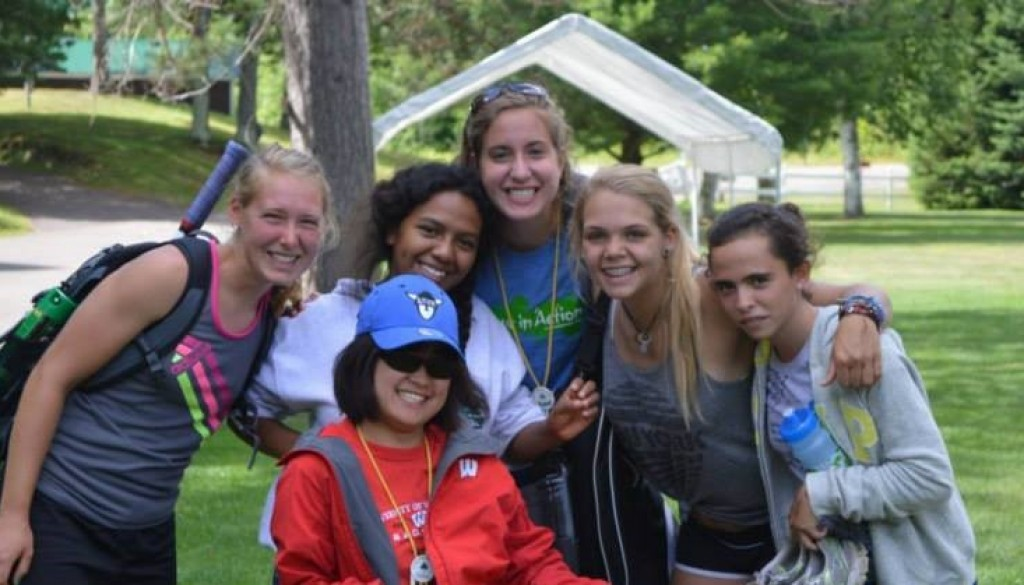 WeHaKee Camp for Girls happy campers