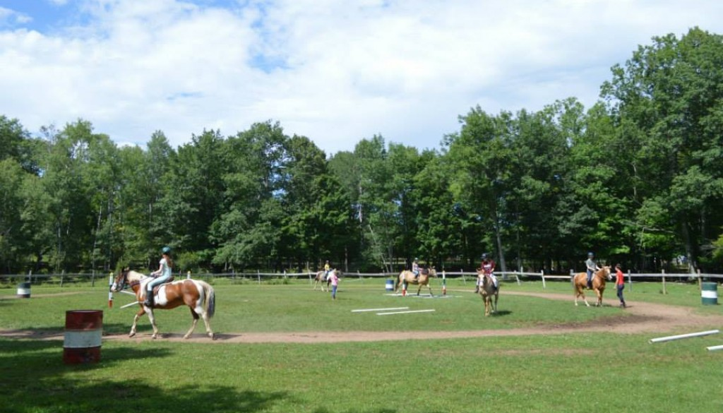 WeHaKee Camp for Girls Equestrian area