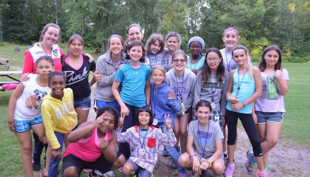 WeHaKee Camp for Girls campers.