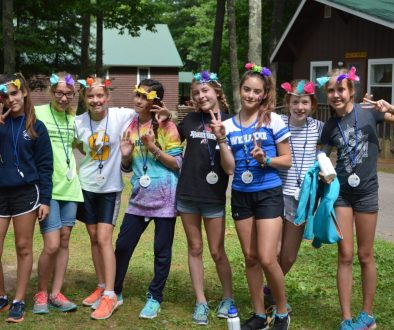 The secret to being successful at camp.