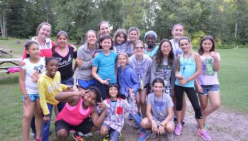 WeHaKee Camp for Girls valley group.