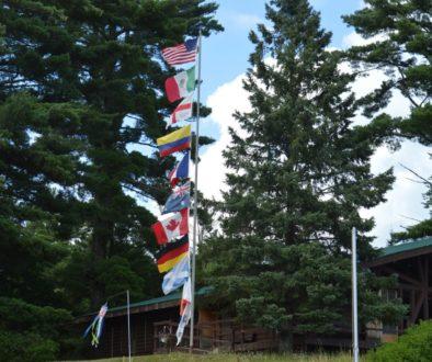 WeHaKee flag pole