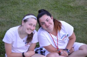 Smiling Counselors at Camp