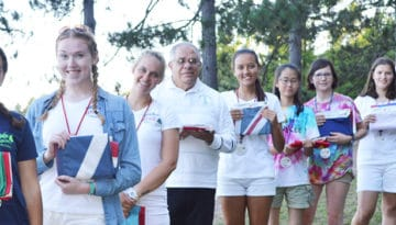 WeHaKee Camp for Girls International Campers