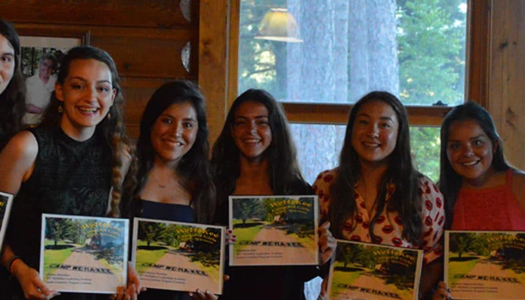 WeHaKee Girls Camp Leadership Academy