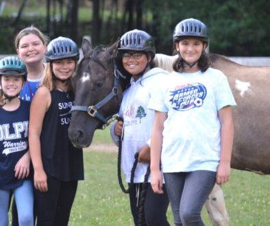 Horseback Riding at WeHaKee Camp for Girls