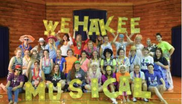 Wehakee Camp for girls musical.