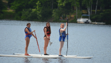 Girl's Canoeing