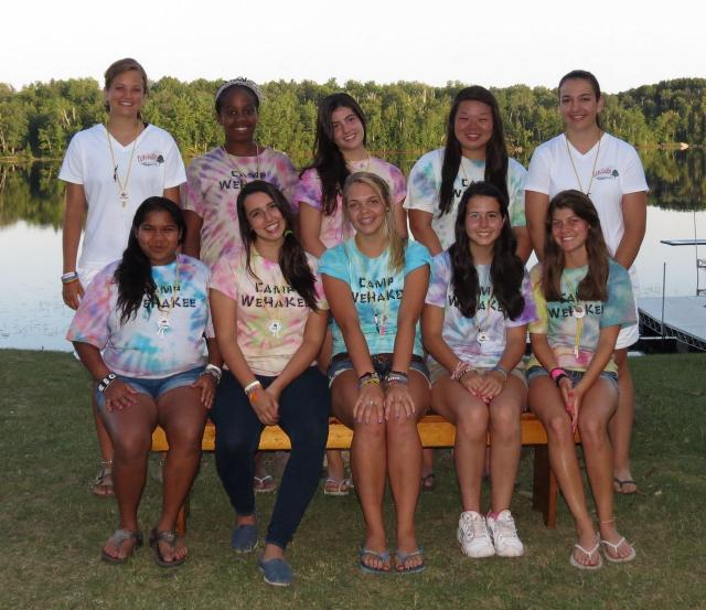 Camp WeHaKee diverse group