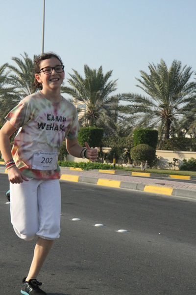 WeHaKee running gear in Bahrain - Tara K