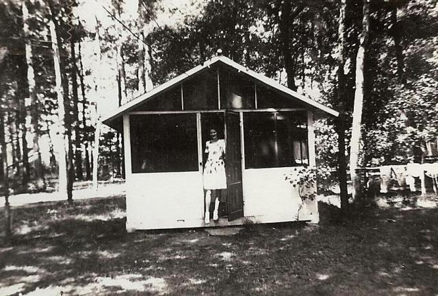 WeHaKee Camp for Girls cabin 1941