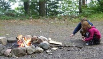 buildingACampfire