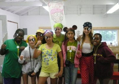 Campers as pirates