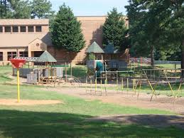 empty school playground