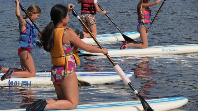 WeHaKee paddlers