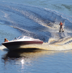 WeHaKee waterskier